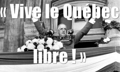 De Gaulle – Vive le Québec Libre!