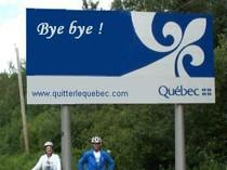 Le site « Quitter le Québec » : une claque en pleine gueule