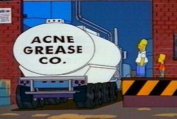 La vision d'Homer Simpson
