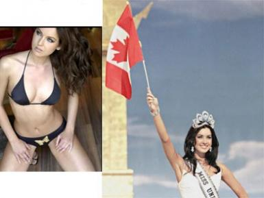 Miss Canada est Miss Univers 2005