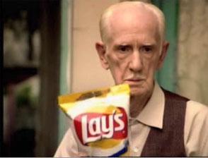 Publicite américaine des chips Lays