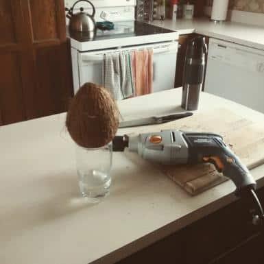 La fois où j'ai appris à ouvrir une noix de coco