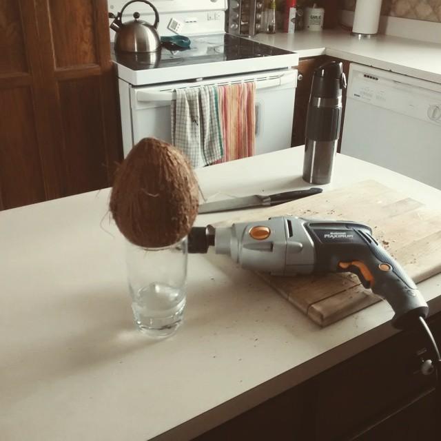 Couper Noix De Coco la fois où j'ai appris à ouvrir une noix de coco