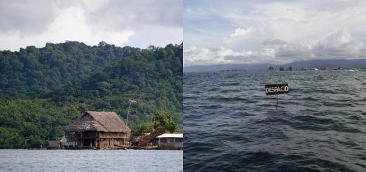 L'inondation de l'Archipel de San Blas au Panama