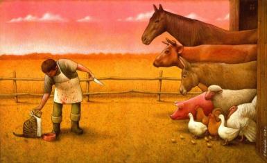 7 peintures brillantes qui vous fera réaliser ce qui va mal dans le monde
