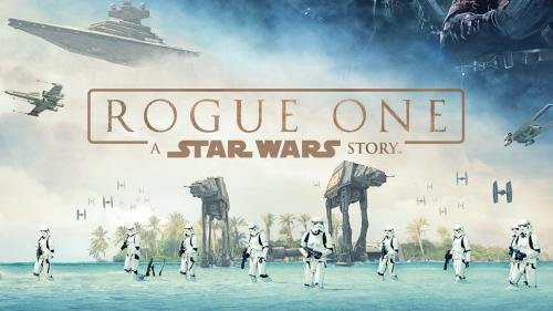 Poster officiel de Star Wars Rogue One
