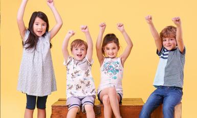 Économisez jusqu'à 85% sur des vêtements adorables et durables pour vos enfants