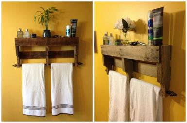 15 idées faciles pour sauver de l'espace dans votre salle de bains!