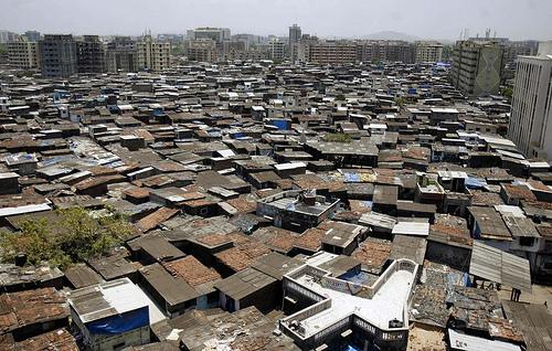 Dharavi - Mombai - Inde - Bidonville