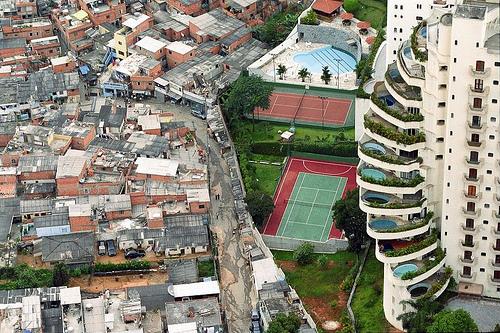 Sao Paulo - Brésil - Bidonville